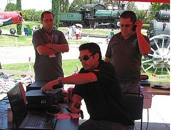 Radioaficionados en Explora