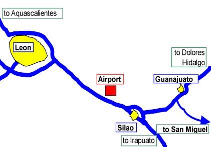 Guanajuato Mexico Arriving